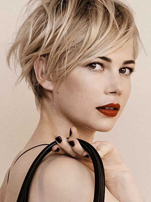 Longer Pixie Straight Fine Haircuts