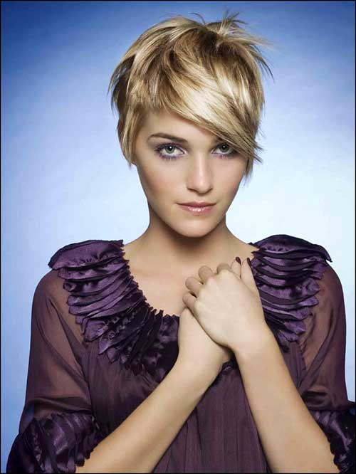 Longer Pixie Straight Haircuts