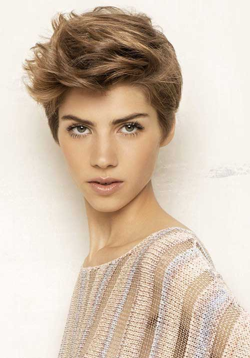 Messy Pixie Hairstyles 2015