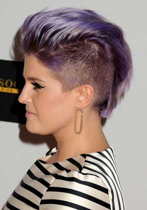 Mohawk Pixie Cut for Women