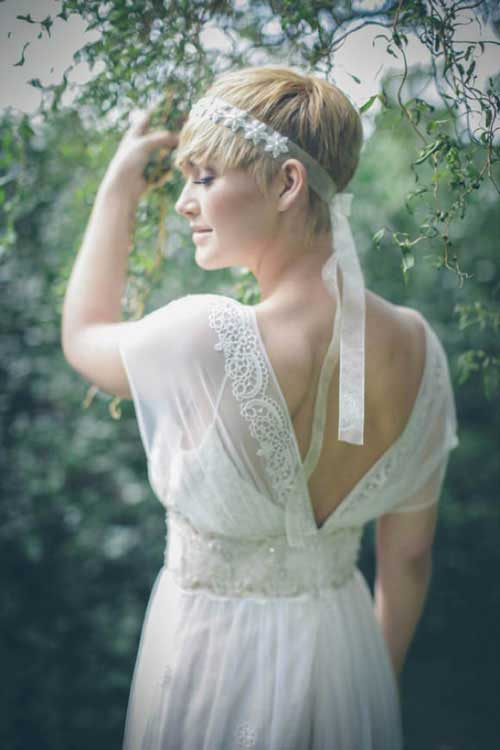 Nice Pixie Hairstyles for Wedding