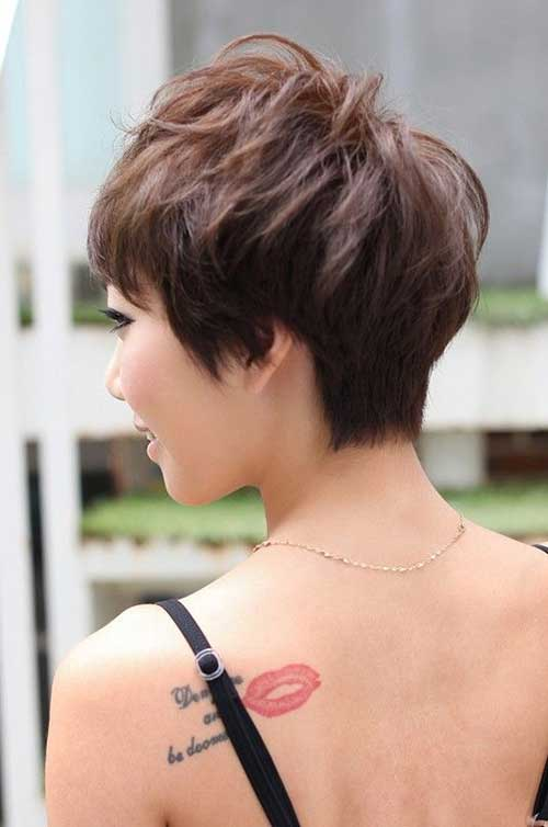 Pixie Back View Cut Ideas Women