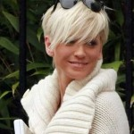 Blonde Pixie Cut Hairstyles 2014