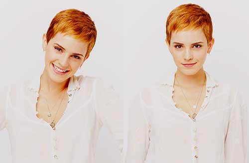 Cute Pixie Haircut Emma Watson
