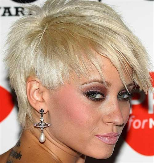 Fine Pixie Razor Haircut