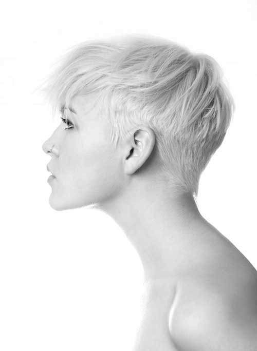 Popular Blunt Short Pixie Cuts