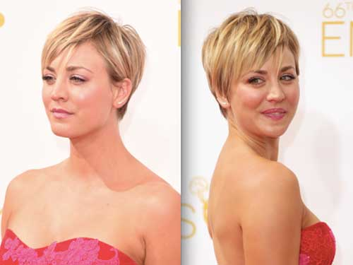 Popular Choppy Pixie Blonde Hair