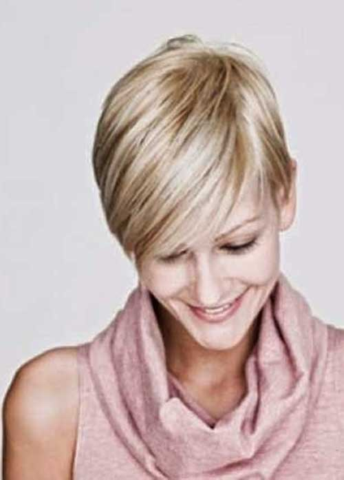 Popular Pixie Blonde Hair