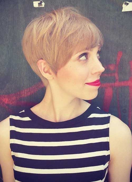 Pretty Layered Pixie Cuts