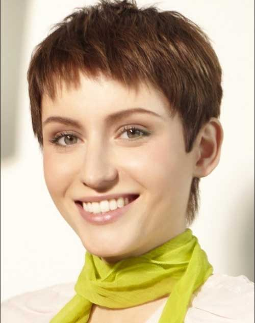 Razor Cut Pixie Haircuts Ideas