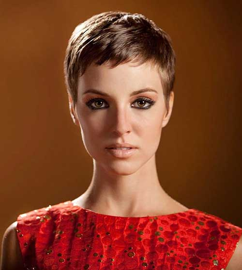 Short Pixie Cropped Haircut