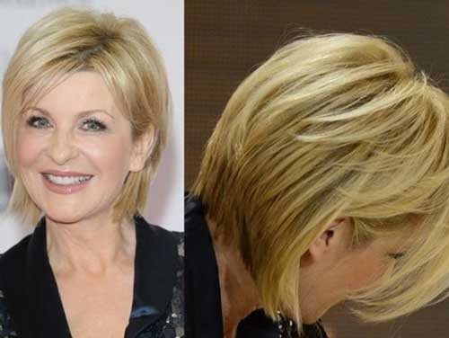 Short Pixie Cuts Ideas for Older Ladies