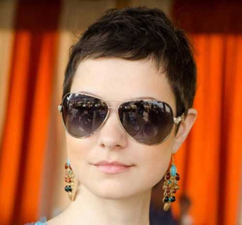 Very Short Pixie Cuts for Thick Hair 2014