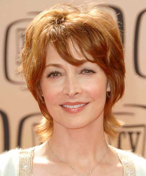 Short Hair Pixie Cuts for Women Over 50
