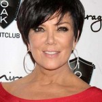 Dark Short Pixie Hairstyles for Women Over 50