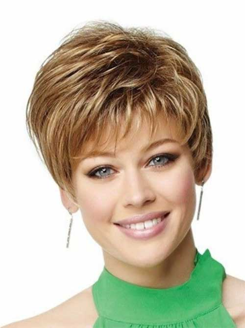 Short Pixie Light Brown Hair 2014