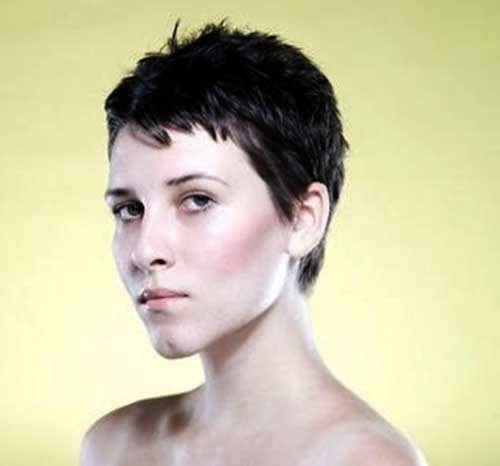 Short Spiky Pixie Hair Cut Ideas