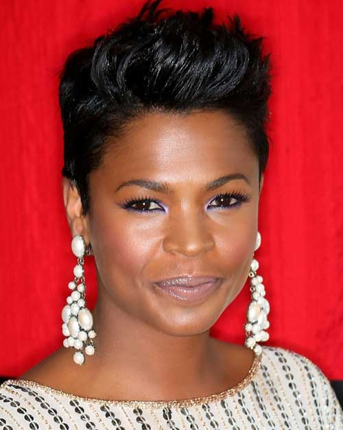 Short Spiky Pixie Cuts for Black Women