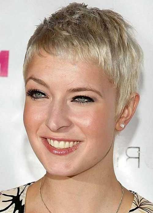 Short Thin Pixie Cut Hairstyles 2014