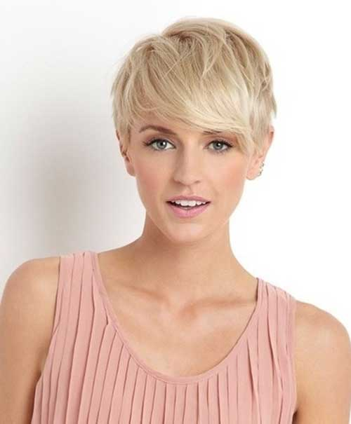 Side Long Pixie Hair Cuts