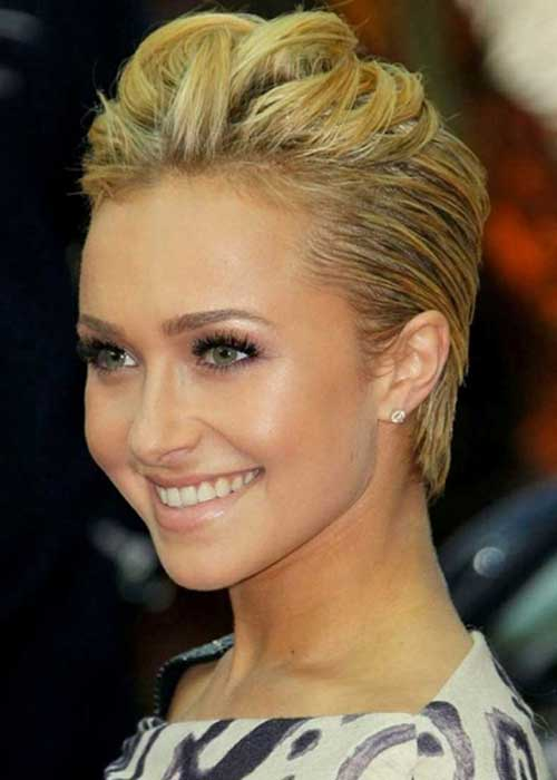 Slicked Back Pixie Hair Cut Ideas