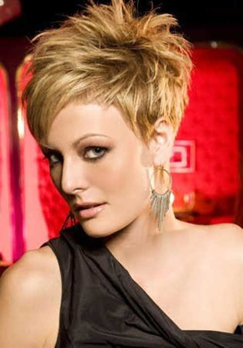 Spiked Pixie Cuts Ideas for Women