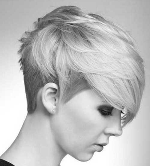 Straight Long Layered Pixie Haircut