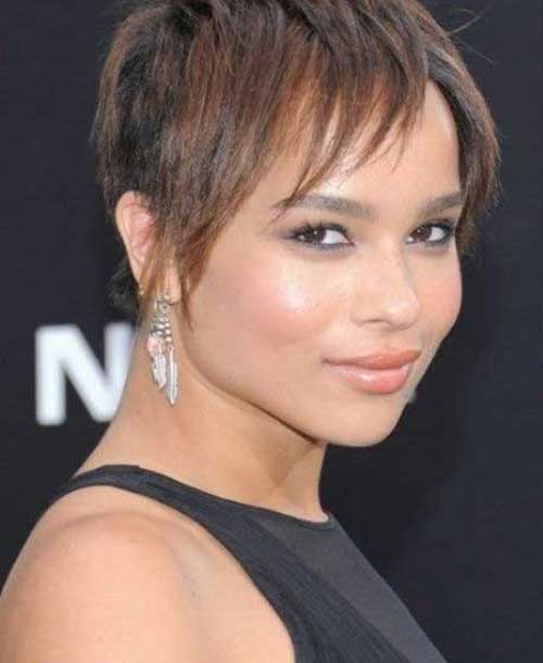 Straight Pixie Razor Haircut Styles