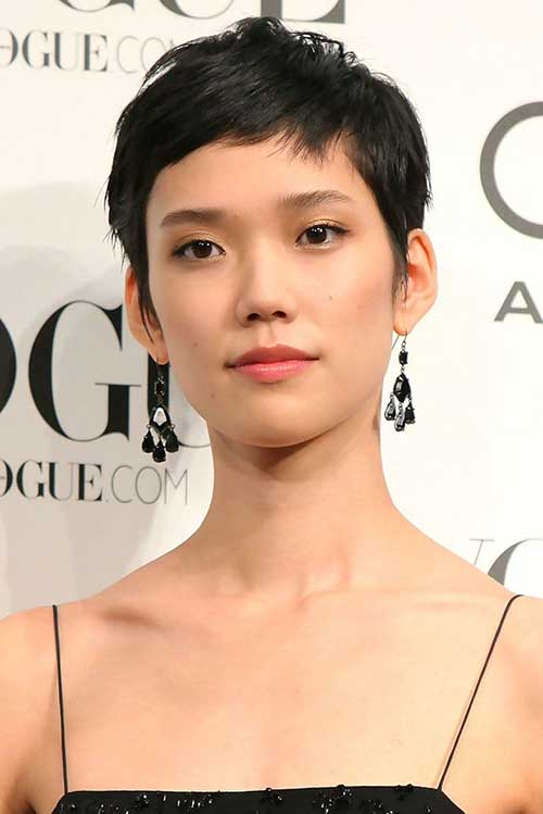 Super Short Pixie Cropped Haircut