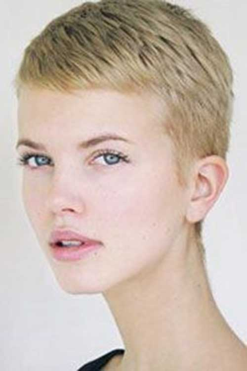 Super Short Pixie Hair Styles