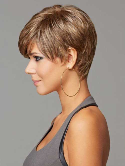 Thick Pixie Hairstyles Images