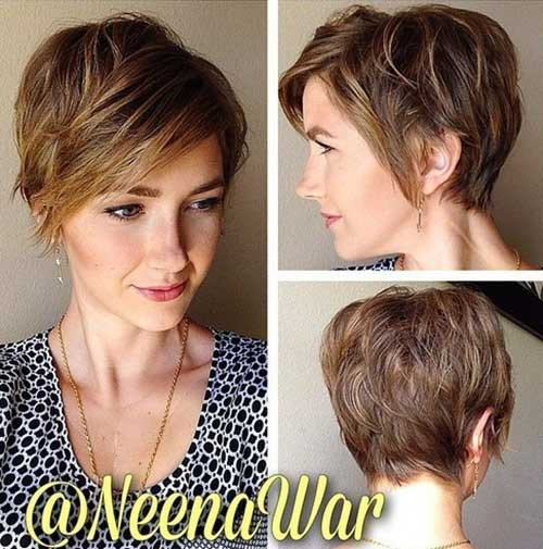 Thick Pixie Short Haircuts 2015