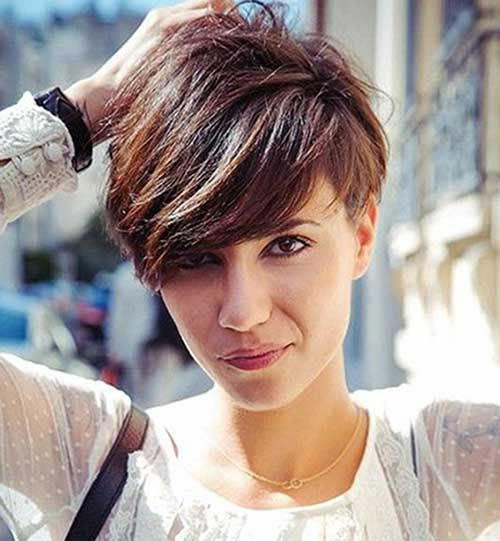 Trendy Longer Pixie Haircuts