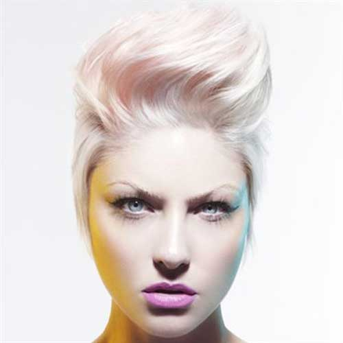 Trendy Pastel Pink Pixie Hairstyle