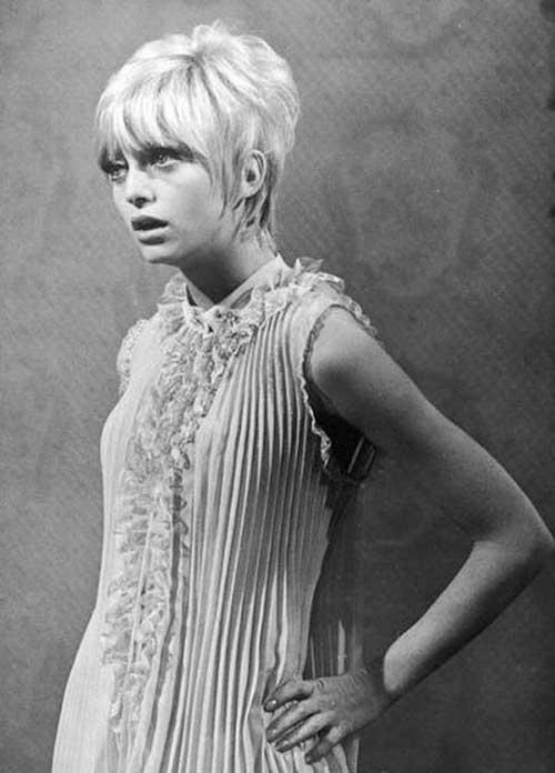 Blonde Vintage Pixie Cut
