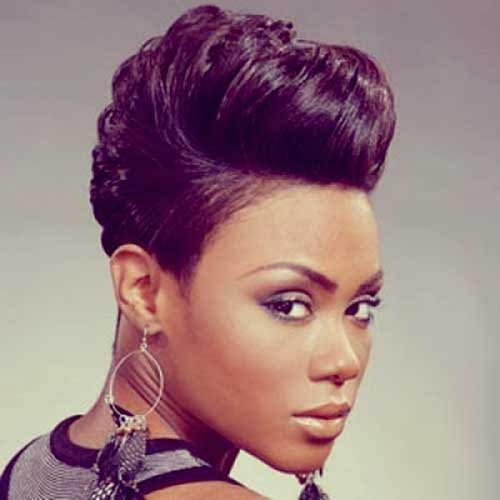 Wavy Hair Pixie Cuts for Black Women