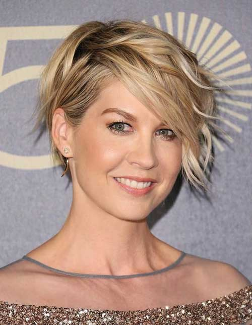 Wavy Long Pixie Hair Cut