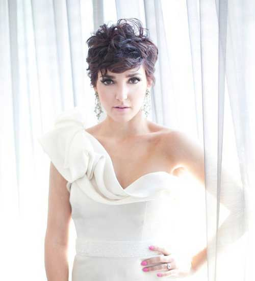 Best Wavy Pixie Hair Ideas for Wedding