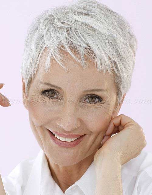 White Pixie Hair for Women