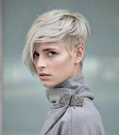 Asymmetrical Pixie Cuts for Girls