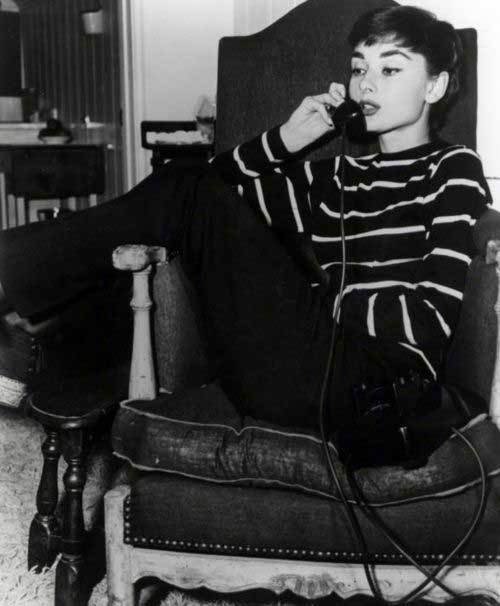 Audrey Hepburn Hair Pixie Cut