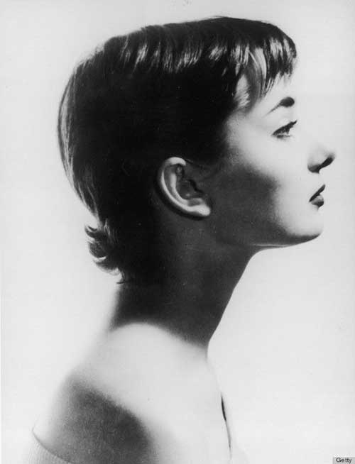 Audrey Hepburn Pixie Side View Look
