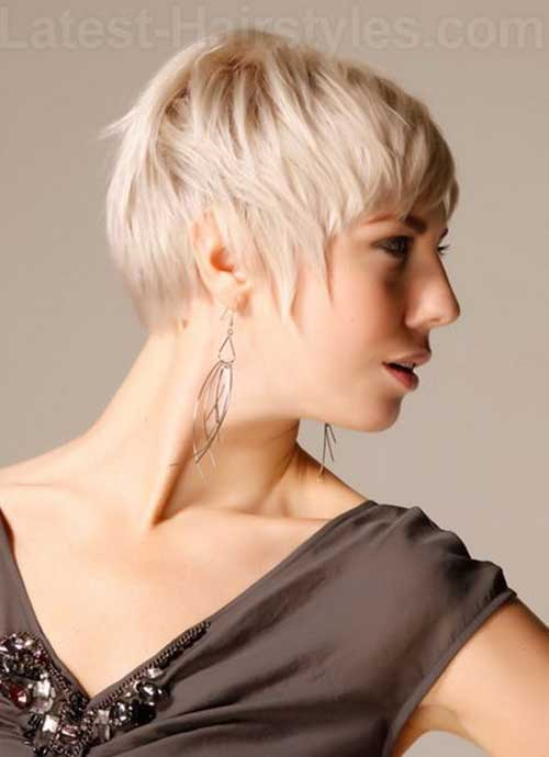 Best Pixie Haircut Style Thin Blonde Hair