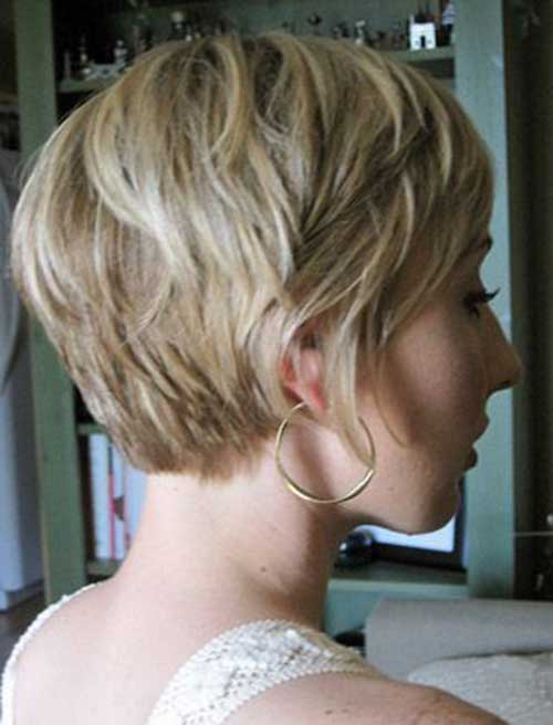 Blonde Pixie Cut Hair