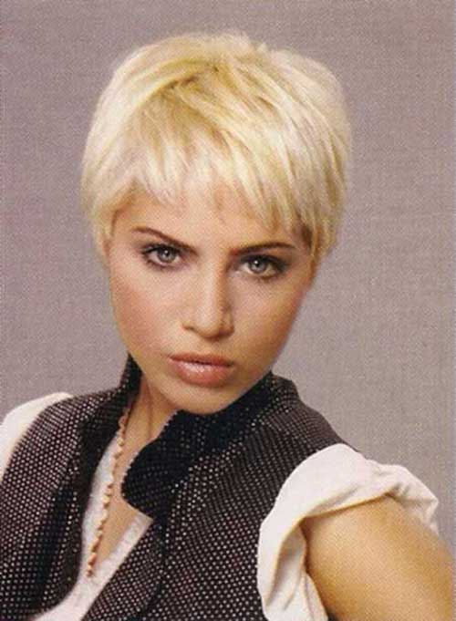 Blonde Pixie Haircuts Pictures