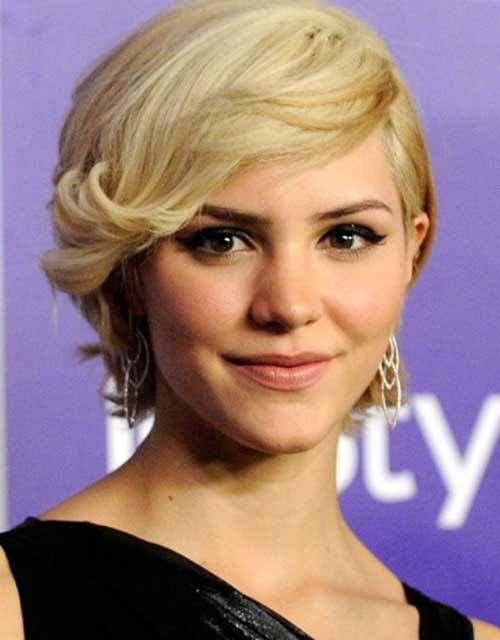 Celebrities Long Curly Pixie Cuts