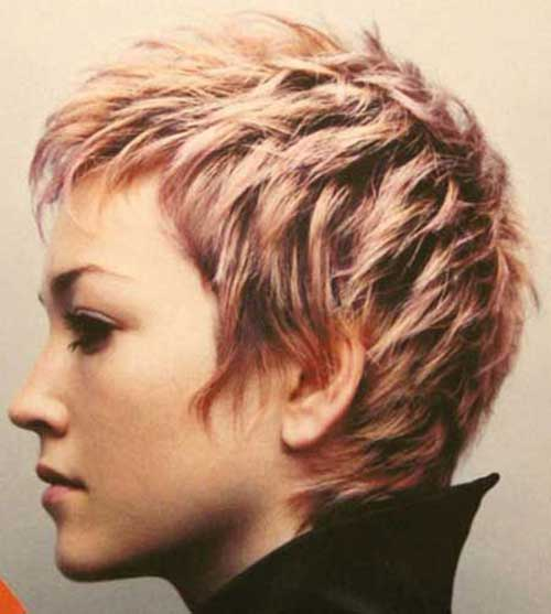 Chic Pixie Blonde Hairstyles