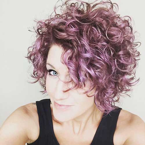 Curly Short Pixie Haircut