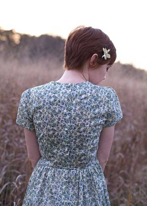 Cute Pixie Back View