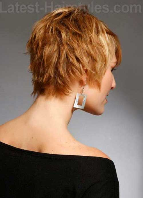 Cute Shaggy Pixie Haircut